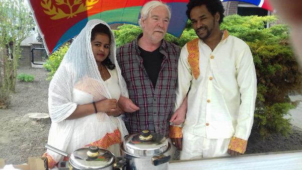 Eritrese kraam Hemelvaartsdag 2018 Axel